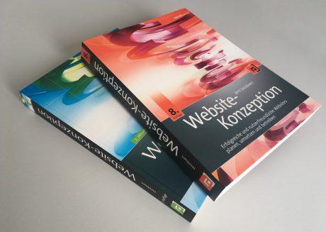 Foto Buch Website-Konzeption 7. und 8. Auflage
