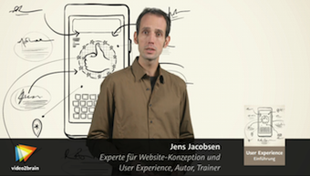 UX-Einführung Jens Jacobsen Standbild Videotraining