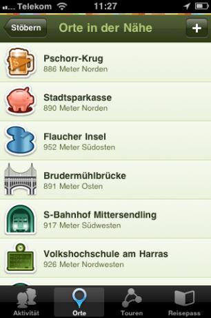 Gowalla iPhone-App
