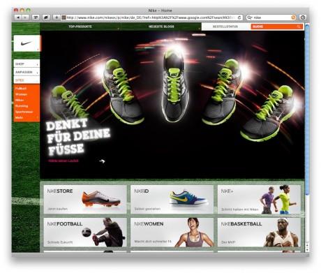 Nike Startseite