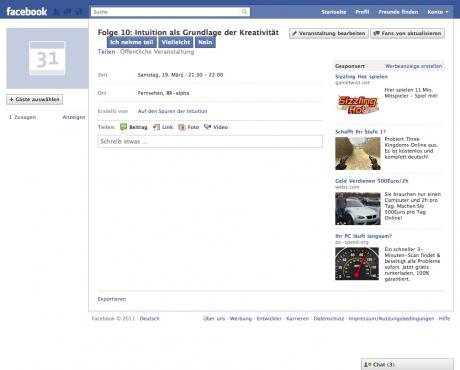 Werbung, die Facebook einblendet, unterscheidet sich je nach Nutzer. Ganz dem Klischee folgend sehen Männer sehen eher Werbung für Spiele und Computerkram, Frauen eher Werbung für Online-Shops.