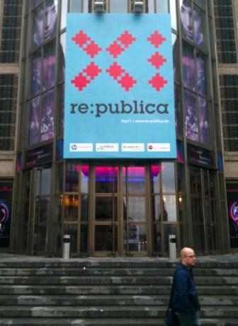 Eingang zur re:publica 2011