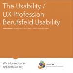 Titelbild der Broschüre Berufsfeld Usability