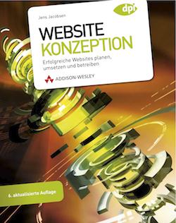 Cover Website-Konzeption, 6. Auflage
