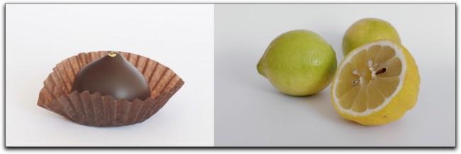 Praline und Zitronen