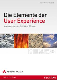 Cover des Buchs Die Elemente der User Experience