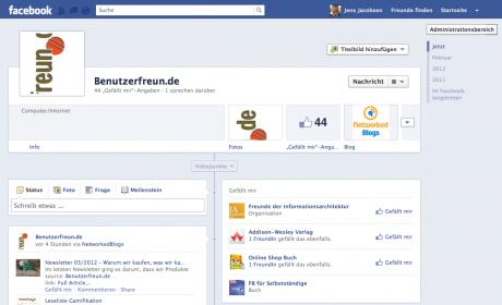 Facebook-Chronik