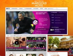 Website sat1.de