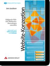 Cover der 1. Auflage des Buchs Website-Konzeption