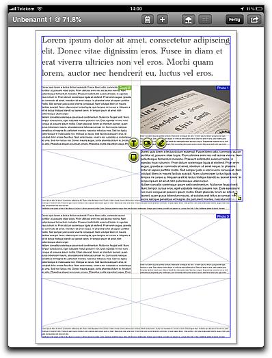 Screenshot DesignPad