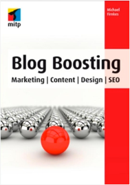 Cover Buch Blog Boosting