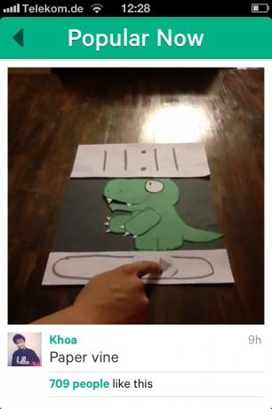 Screenshot Vine-App