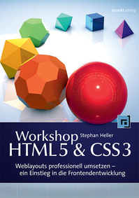 Cover Buch Workshop HTM5&CSS3