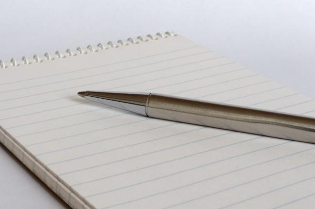Standard-Illustrationsfoto mit Kugelschreiber