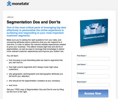 Website Monetate
