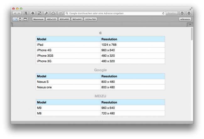 Screenshot Resize Safari Extension