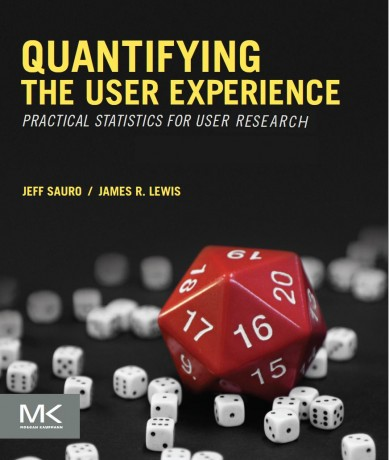 Buchtitel Quantifying the User Experience