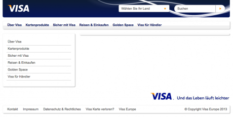 Screenshot Website Verified by Visa