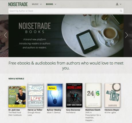 Website Noisetrade Books
