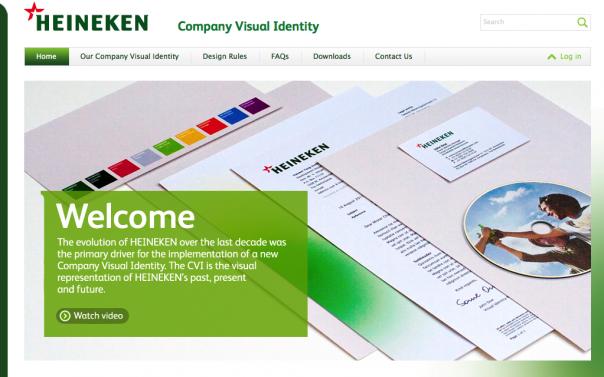 Website Heineken CI