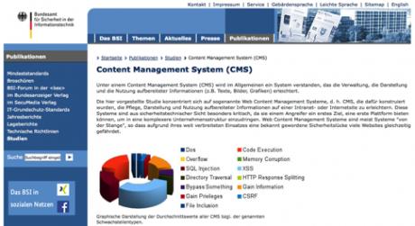 Website des BSI