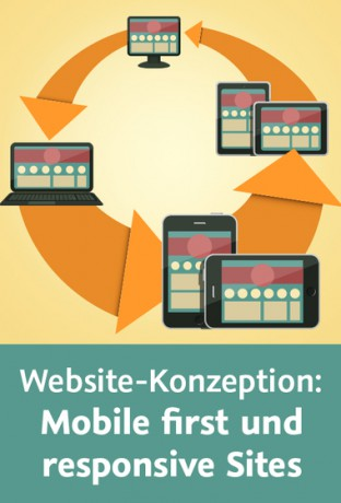 Cover Videotraining Website-Konzeption Mobile first und responsive Sites