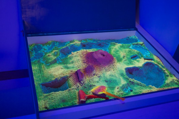 Augmented Reality Sandbox im Game Science Center