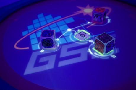reactable im Game Science Center
