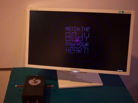 Hexed Heart im Game Science Center
