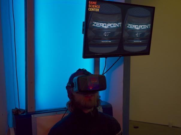 Oculus Rift im Game Science Center