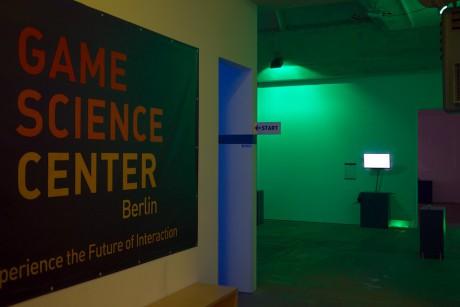 Eingangsbereich Game Science Center