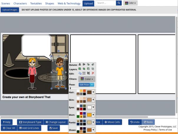 Screenshot StoryboardThis