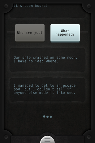 Screenshot Spiel Lifeline