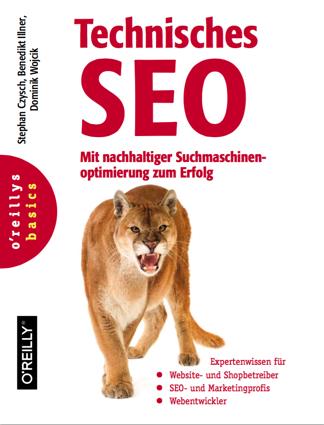 Cover Buch Technisches SEO