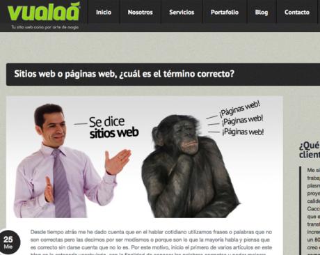 Screenshot Website Vualaa