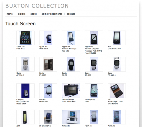Website Buxton Collection
