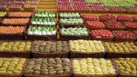 Fotos Tomaten auf dem Markt