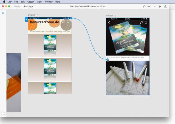 Screenshot Adobe User Experience