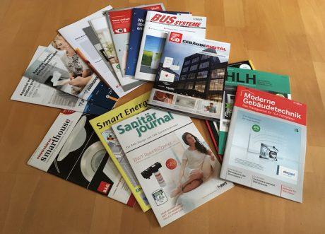 Foto Fachzeitschriften Smart Home