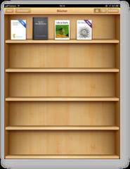 Screenshot iBooks auf iPhone
