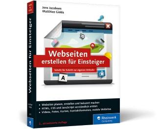 Cover Buch Webseiten erstellen für Einsteiger