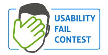 Logo Usability Fail Contest