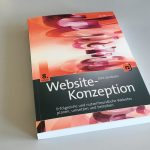 Buch Website-Konzeption in der 8. Auflage erschienen