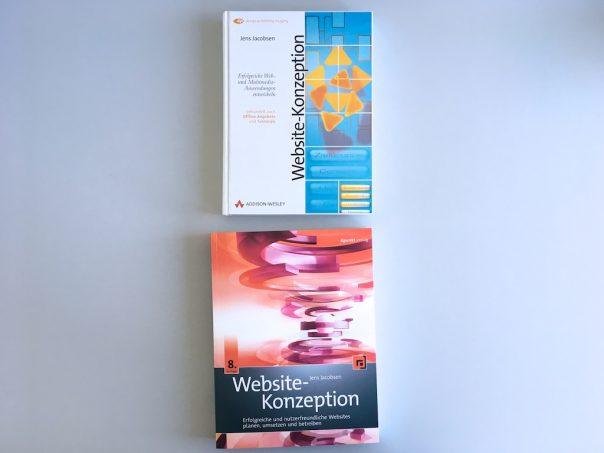 Website-Konzeption-Vergleich Auflage 1-8 Cover