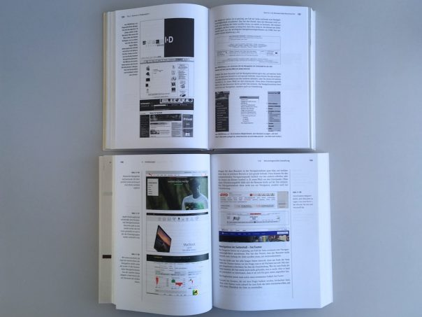 Website-Konzeption-Vergleich Auflage 1-8 Inhalte