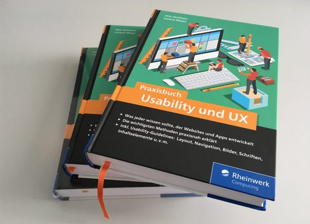 Foto Stapel Praxisbuch Usability & UX