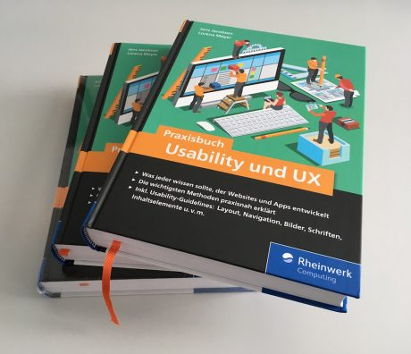 Foto Stapel Praxisbuch Usability & UX