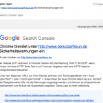 Google bestraft alte Websites