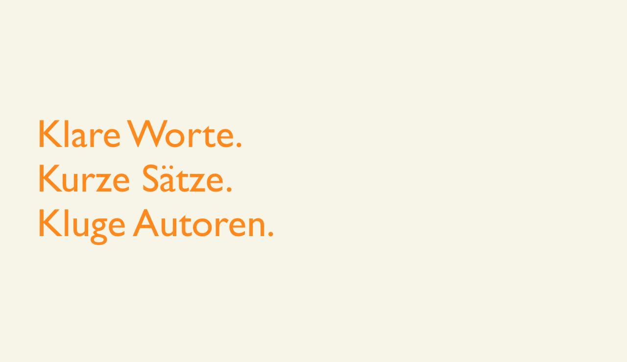 Vorschaubild-Einfache-Sprache (Klare Worte. Kurze Sätze. Kluge Autoren.)