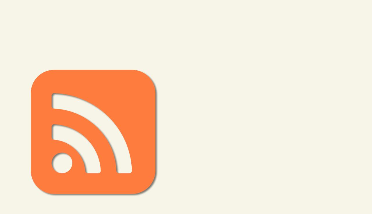 RSS-Feeds –Dinosaurier oder Trend?